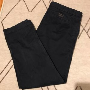 Navy Banana Republic chinos